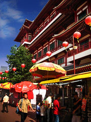 Sago Lane, Chinatown  Singapore (williamcho) Tags: food tourism singapore chinatown chinese entertainment temples pubs bargains stalls supershot