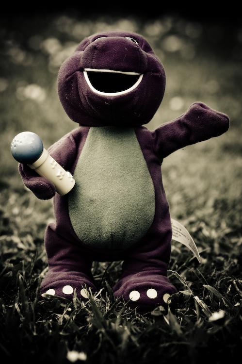 Barney the Spartan