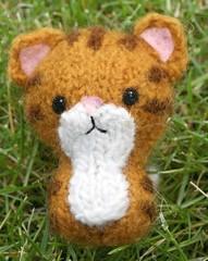 IMG_3259 (kellylane6) Tags: animal felted cat stuffed knitting knit kitty felt swatteamkitties craftyalien