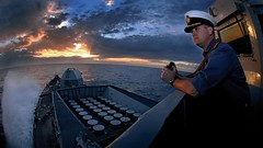 The Commanding Officer of HMS Somerset (jackspeakblog1) Tags: albania royalnavy type23 tirania hmssomerset poaphottammcdonald