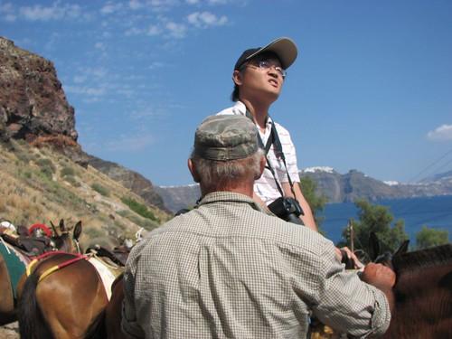 騎著驢道上到伊亞 (1)