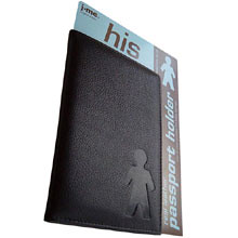 Passport holder for him - Resekoll.se