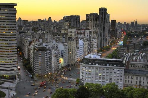 Atardecer en Buenos Aires - HDR