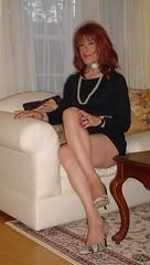 One of my LBDs (Elizabeth Heatherton) Tags: tv cd tranny transgendered crossdresser transvetite