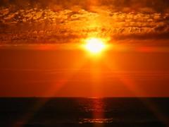 Star Sunset (FUNCAM) Tags: ocean california ca sunset sun beach seaside sandiego sd missionbeach