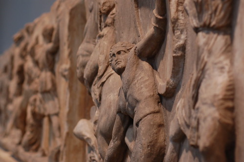 Detail from the Elgin Marbles at the British Museum