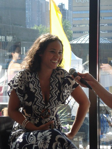 Mayra Andrade Press Conference at the Montreal International Jazz Festival