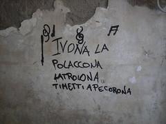Jeux Sans Frontires!!! (Casercani) Tags: muro nikon europa sheep vicolo mercato polonia gioco l3 scritta caserta pecora ivona frontiera molloch porteaperte casercani datodifatto