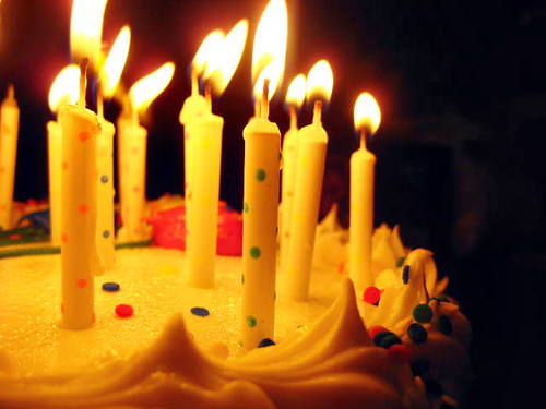 Birthday Cake - Candles by jessica.diamond, on Flickr
