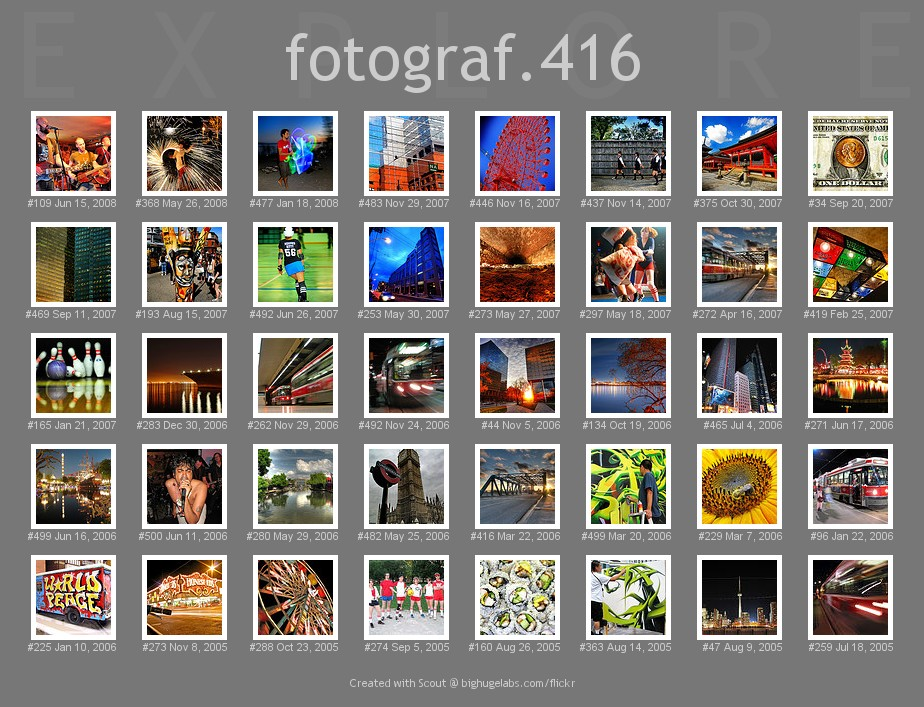 40 Photos that have been in Explore