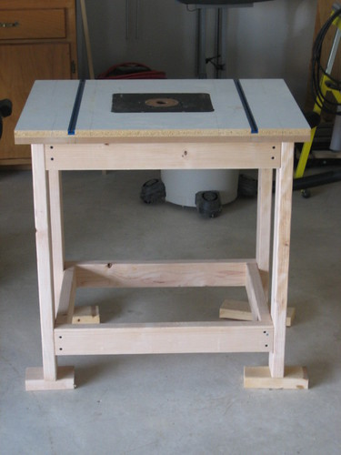 Router Table w/o Fence