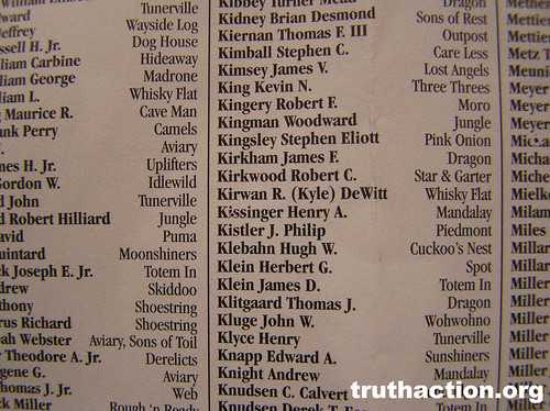 Bohemian Grove 2008 list - Kibbey - Knudsen, Kissinger