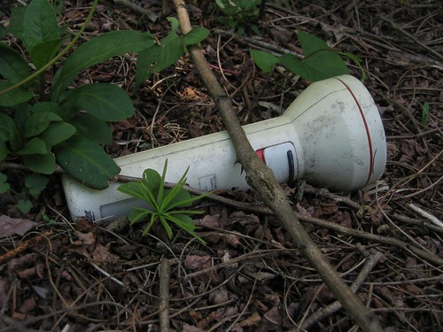 Abandoned flashlight