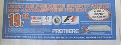 Saturn-Werbung für Premiere