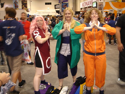 Obligatory Naruto cosplayers