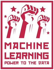 machine learning power to the data poster