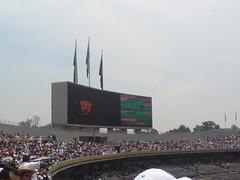 Pumas 2-0 Necaxa tablero