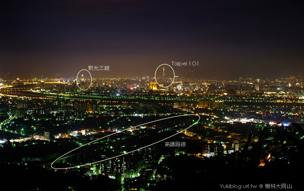 大同山夜景