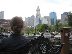 Looking at Boston (Frank Gruber) Tags: summer boston beantown