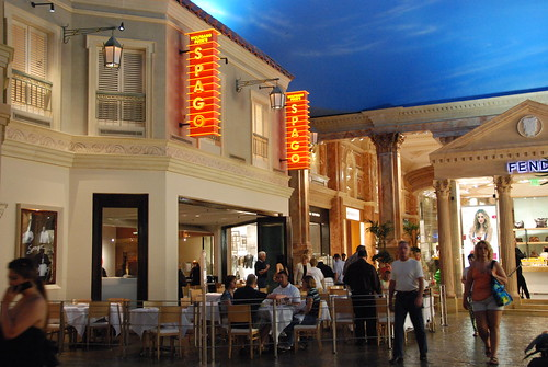 Wolfgang Puck's Spago Restaurant in Caesar's Palace - Las Vegas