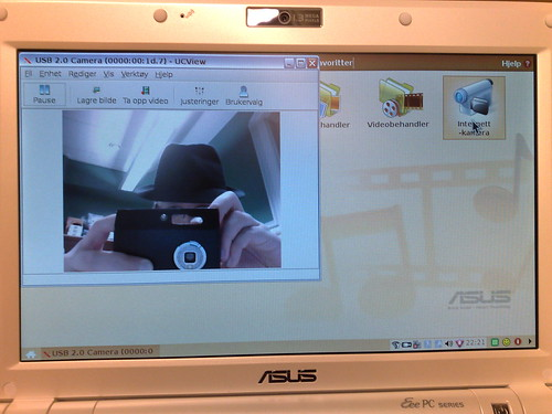 Asus eeepc 900 webcam