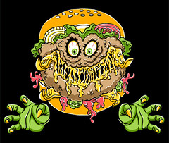 Evil Double Cheeseburger (Lucky1988) Tags: cheeseburger