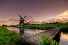 Windmill (Esther Seijmonsbergen) Tags: sunset holland windmill dutch landscape photography countryside scenery exposure thenetherlands hdr zevenhuizen digitalworld 3xp digitl tthdr anawesomeshot diamondclassphotographer flickrdiamond elitephotography goodredroad estherseijmonsbergen lesamisdupetitprince finephotoshopdesign fabbow wwwdigitalexposurephotographycom