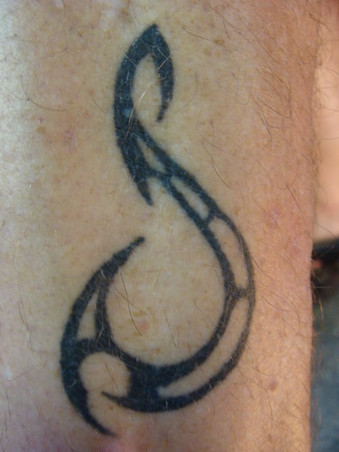 Fishermen Tattoos- Dave Jewell's Tribal Fish Hook