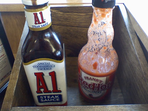 Steak Sauce, Hot Sauce, What Sauce...