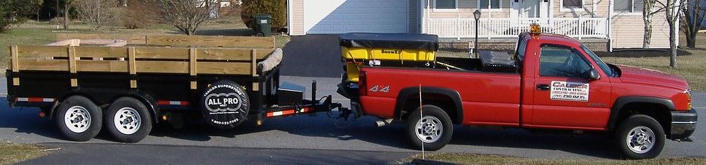 CALIBER Contracting Dump Trailer