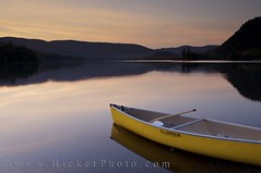 Canoe on lake at dusk at Lake Monroe Quebec Canada (Rolf Hicker Photography) Tags: world travel sunset lake canada nature water beautiful boats boat quebec lakes scenic canadian canoe canoes provincialpark monttremblant lakemonroe laurentides naturephotography travelphotography lacmonroe sunsetpictures 5photosaday easterncanada provincialparks rolfhicker theworldisbeautiful parcnationaldumonttremblant canadapictures canadaphotography honeymooncanada parcsquebec picturesofcanada hickerphotocom
