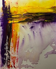 Abstract Art Watercolor - First Elements (Jose F. Sosa) Tags: original art modern watercolor artwork paint artist expression abstractart contemporary fine paintings drawings canvas mexican american expressionism expressionist abstraction form abstracts shape impression selective abstractions abstracted artcafe awardtree globalworldawards dajudge josefsosa artcafedomidoexhibitionscomein