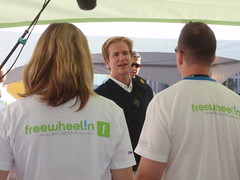 Matthew Modine visits the Freewheelin Experience