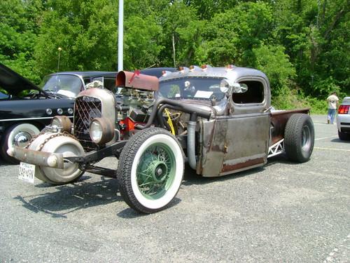1946 Chevy pickup rat rod