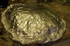 Potato packet, pre-cooking