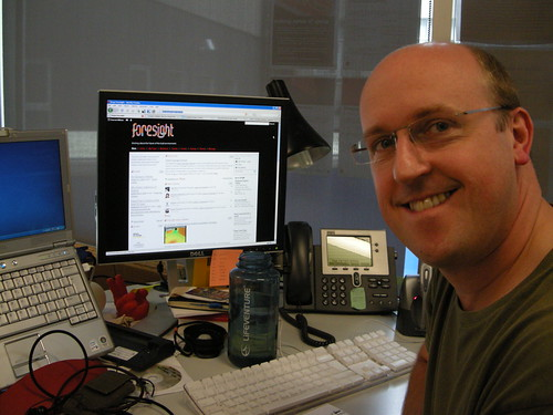 Duncan Wilson with the Foresight website