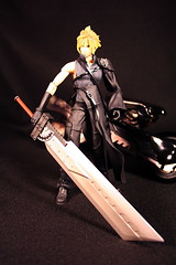 Cloud Strife - Final Fantasy VII Advent Children (chanchan222) Tags: cloud anime canon children toys rebel xt dc advent vinyl plastic warcraft final fantasy transformers spawn marvel mighty figures vii pvc muggs strife mcfarlane claymore danchan danielchan chanchan222 wwwchanofamericacom chanwaibun httplifeofplasticcom