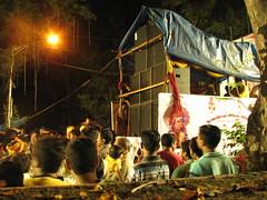 Modern Ganpati Visarjan (Primus D'Mello) Tags: people music india festival canon fun lights is dance dj god religion remix ganesh sound mumbai hindu s3 visarjan primus ganpati lalbaug dmello primusdmello