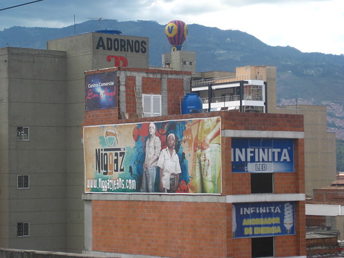 Niggaz Jeans Sign in Medellin Colombia