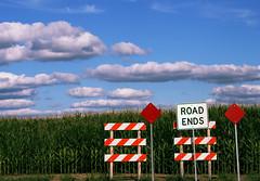 ... nature begins (prex79) Tags: road sky usa nature illinois interestingness colours unitedstates cielo end 2008