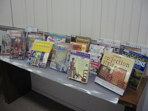 Decorating book display - Sep 2008