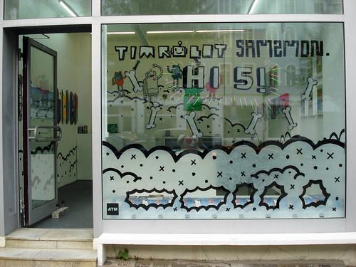 Timrobot & Samzmonster Exhibition @ ATM Berlin