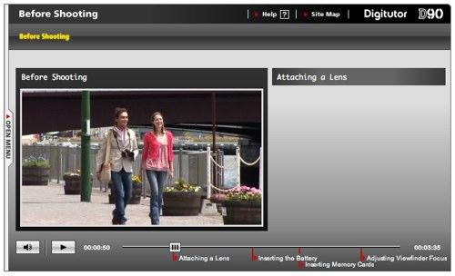 Nikon D90 DigiTutor -- Online Video Tutorials