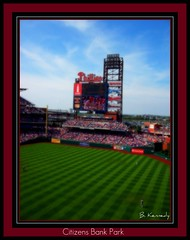 Four Game Sweep (qparker71 (Brian Kennedy)) Tags: painterly art philadelphia photoshop print artwork brewers baseball framedart framed prints phillies philly citizensbankpark procesing matted postprocessing utley ryanhoward chaseutley