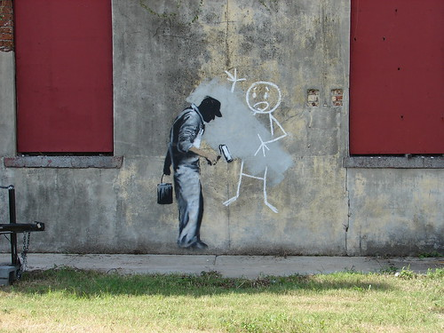 Banksy Art in New Orleans