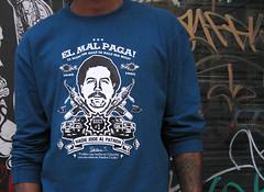 Nadie Jode Al Patrón!! (Toxicómano) Tags: tshirt camiseta vector pabloescobar remera toxicómano narcotráfico elpatrón elmalpaga