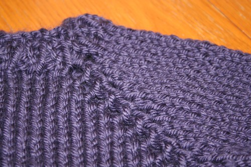 Yarn over details