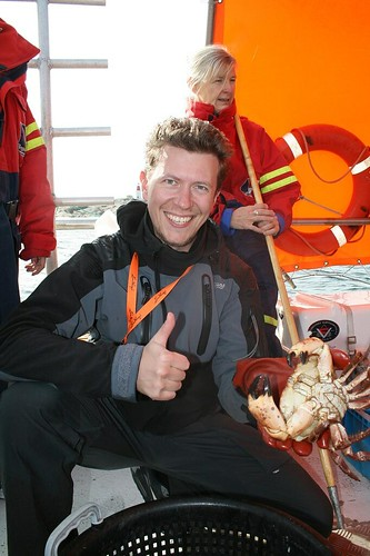 Outdoor Academy of Sweden - yey crab!