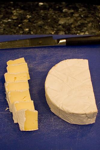 Fresh Cut Brie