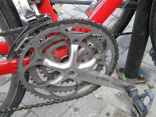 Frederick Bike Repair - Road Crank - Custom Bike Mods